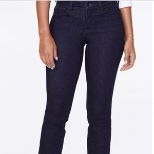 NYDJ Jeans - NYDJ Marilyn straight jeans in black rinse
